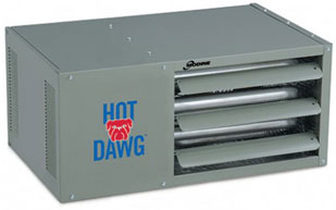 Modine's Hot Dawg Gas Garage Heaters